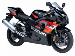 Suzuki GSXR 600 K4 black stickers
