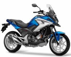 Honda NC 750XA or 750XD 2016-2017 blue model complete decal set