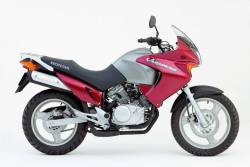 Decals (vinyl replica) for Honda Varadero XL125V 02 red version
