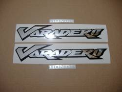 Honda Varadero XL 125V 02-03 grey replacement stickers set