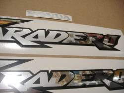 Honda Varadero XL 125V 2003 grey replacement graphics kit