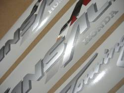 Honda Transalp XLV 2001 black replacement decal kit