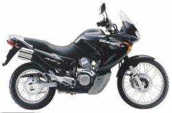 Honda Transalp XLV 2001 black replica decal kit