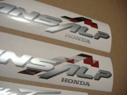 Honda Transalp XL 650V 2001 black replica stickers set