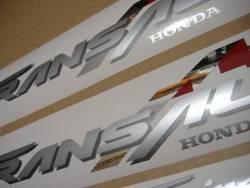Honda Transalp XLV 2001 black replacement sticker kit