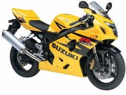 Suzuki GSX-R 600 K4 yellow stickers set