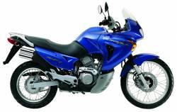 Honda Transalp XL 650V 2001 blue replica graphics set