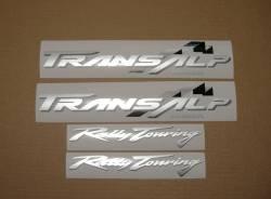 Honda Transalp XLV 2001 blue replacement graphics kit
