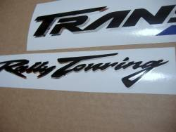 Honda Transalp XL 650V 2002 silver/grey replica decals kit