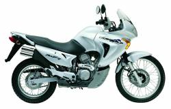 Honda Transalp XL650V 2002 silver/grey complete stickers set