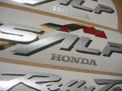 Honda Transalp XL 650V 02 black full logo emblems kit