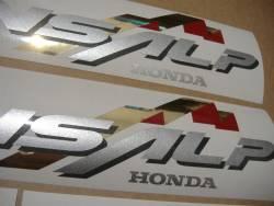Honda Transalp XL 650V 02 black full adhesives kit