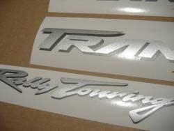 Honda Transalp XL 650V red model restoration decals