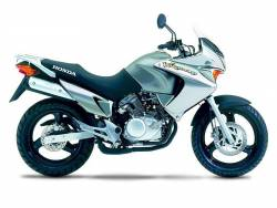 Honda Varadero XL 125cc 2000 silver replacement graphics