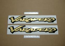 Honda Varadero XL 125cc 2000 silver replacement decals