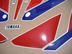 Yamaha FZR 1000 Exup 1990 3GM white reproduction graphics