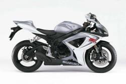 Suzuki GSX-R 600 K6 silver logo graphics set