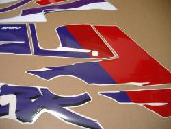 Stickers set for Honda CBR 600 F2 white/red version