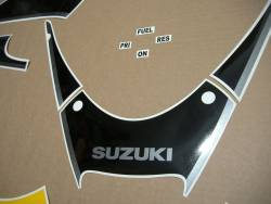 Suzuki Katana GSXF600 03 yellow restoration stickers kit