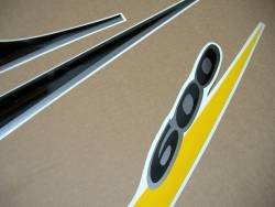 Suzuki Katana GSXF 600 yellow/black version full decals kit
