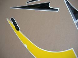 Suzuki Katana GSXF 600 k2-k3 yellow/black model graphics kit