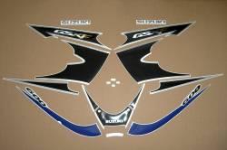 Suzuki Katana GSXF 600 blue 2002 complete stickers set