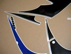 Suzuki Katana GSXF 600 blue european version stickers