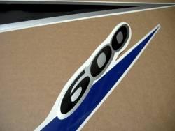 Suzuki Katana GSXF 600 blue european version decals
