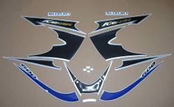 Suzuki Katana GSX600F 2002 (K2) blue model decals set