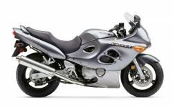Suzuki Katana GSX750F 2003-2004 titanium grey decals