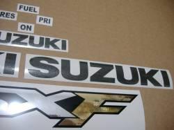 Suzuki Katana GSXF 600 2000 (K1) red stickers kit