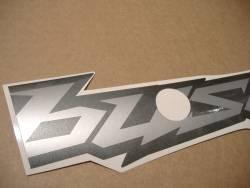 Suzuki Hayabusa 1340 2019 gunmetal grey complete graphics
