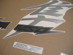 Suzuki Hayabusa 2019 black final edition complete stickers