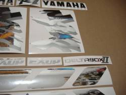Yamaha R1 1998 (4xv rn01) mirrored grey customized stickers
