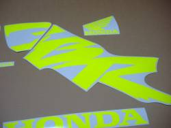 Signal neon yellow/green decals for Honda CBR 600f F4