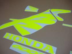 Neon yellow graphcis & stickers for Honda CBR 600f F4