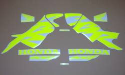 Fluorescent yellow/green decals for Honda CBR 600f F4