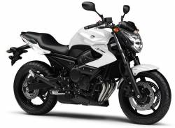 Yamaha XJ6 2011-2012 white version replacement decals