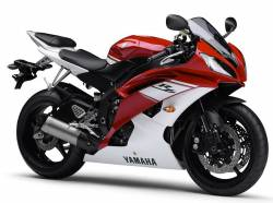 Yamaha R6 2009 13S complete sticker kit