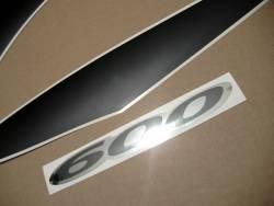 stickers for Suzuki Katana 600 K1 2001 yellow model