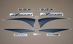 Suzuki Katana 600 K1 2001 yellow full stickers set