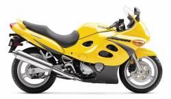Suzuki Katana 600 K1 2001 yellow full decals kit