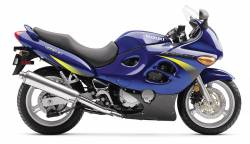 Suzuki Katana 600 K2 2002 blue reproduction decals