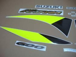 Suzuki Katana GSXF 600 2002 blue replacement decals