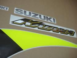 Suzuki Katana 600 K2 2002 blue replacement decals