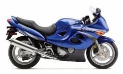 Suzuki Katana GSXF 600 2000 blue restoration stickers