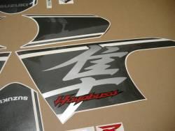 Suzuki Hayabusa 2017 L7 black complete adhesives set
