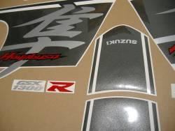 Suzuki Hayabusa 2017 L7 black model full sticker kit