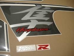 Suzuki Hayabusa 2017 L7 black complete decals kit