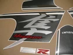 Suzuki Hayabusa 2017 L7 black replica decals set